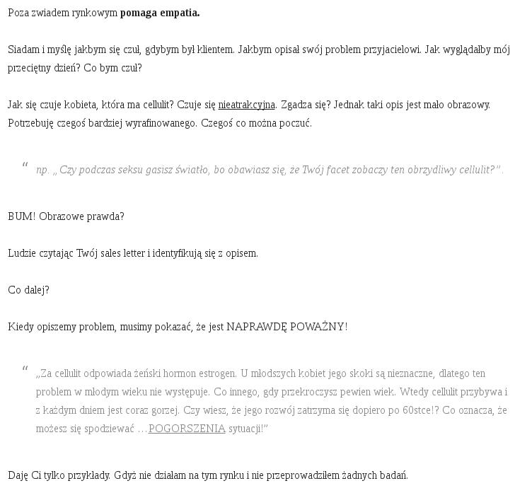 Checklista blogowa - do zrobienia podczas publikaci nowego wpisu