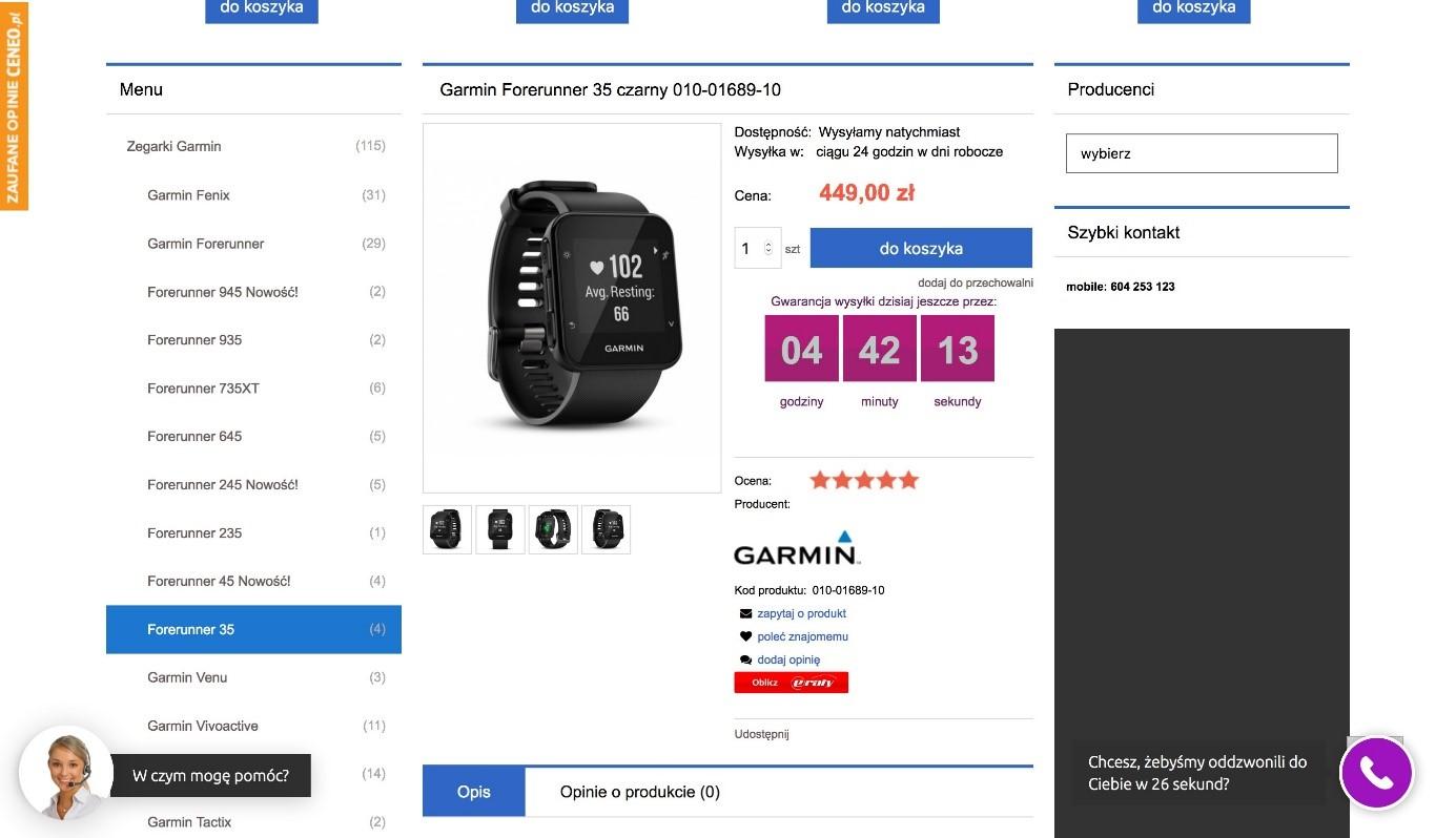 Jak wykorzystać licznik betimes.pl - gwarancja dostawy jutro