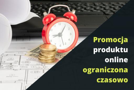 Promocja produktu online ograniczona czasowo