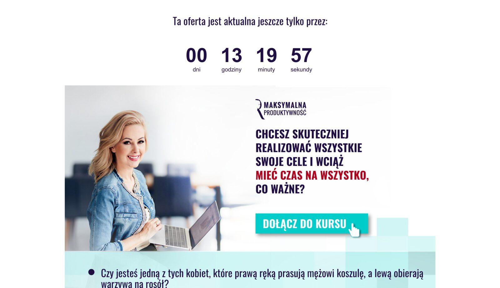 Jak wykorzystać licznik betimes.pl - koniec sprzedaży