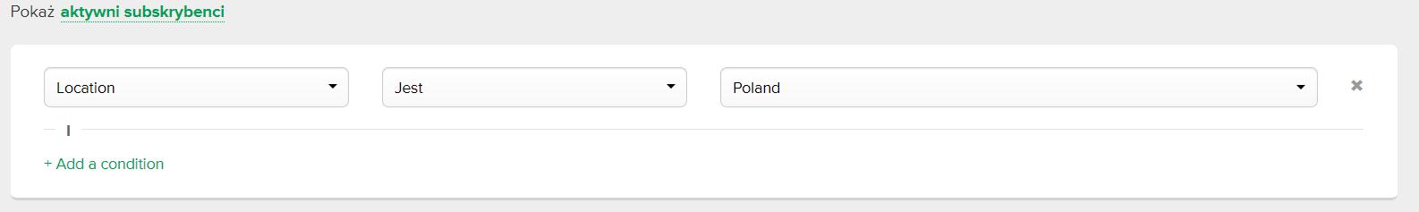 Segmentowanie maili w Mailerlite
